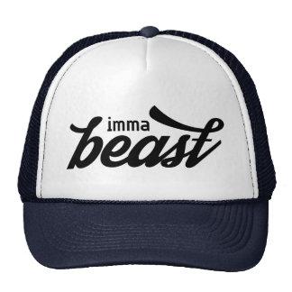imma calligraphic cap