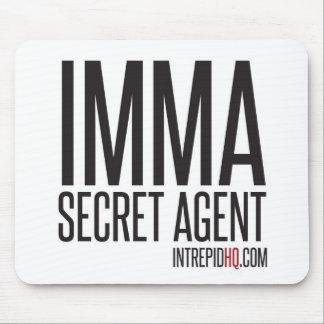 Imma Secret Agent Mousemats