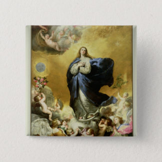Immaculate Conception, 1635 15 Cm Square Badge