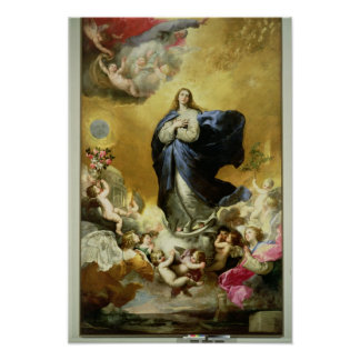 Immaculate Conception, 1635 Poster