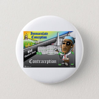 Immaculate Conception 6 Cm Round Badge