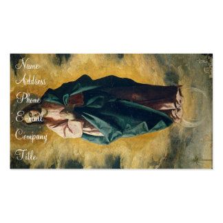 'Immaculate Conception' Business Card Template