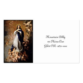 Immaculate Conception Pack Of Standard Business Cards
