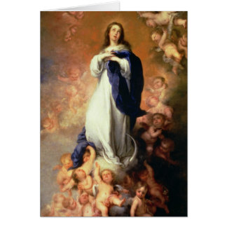 Immaculate Conception of the Escorial, c.1678 Greeting Card