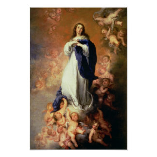 Immaculate Conception of the Escorial, c.1678 Posters