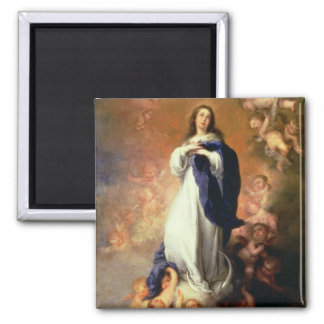Immaculate Conception of the Escorial, c.1678 Square Magnet