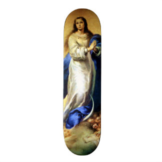 Immaculate Conception of Virgin Mary - Murillo 19.7 Cm Skateboard Deck