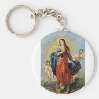 Immaculate Conception - Peter Paul Rubens Key Ring