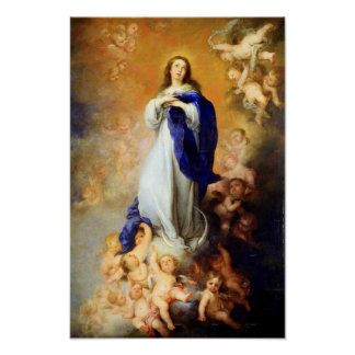 Immaculate Conception Virgin Mary Assumption 04 Poster