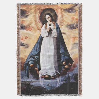 Immaculate Conception Virgin Mary Assumption 08 Throw Blanket