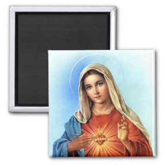 Immaculate Heart Mary Fridge Magnet