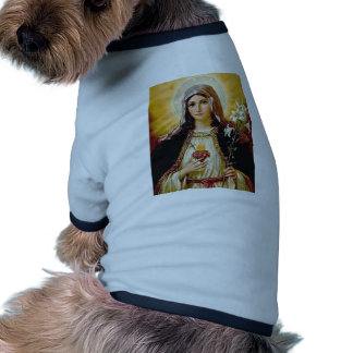 Immaculate heart of holy virgin Mary,mother of GoD Pet Shirt