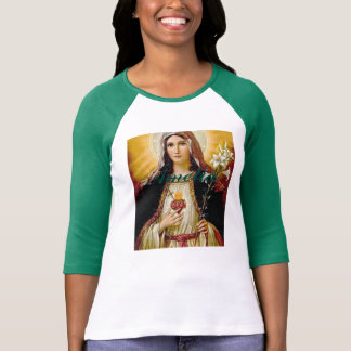 Immaculate heart of holy virgin Mary,mother of GoD Tee Shirt