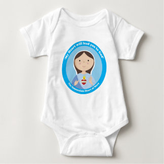 Immaculate Heart of Mary Baby Bodysuit