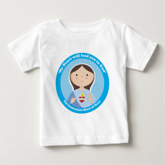 Immaculate Heart of Mary Baby T-Shirt
