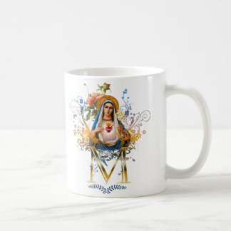Immaculate Heart of Mary Classic White Coffee Mug