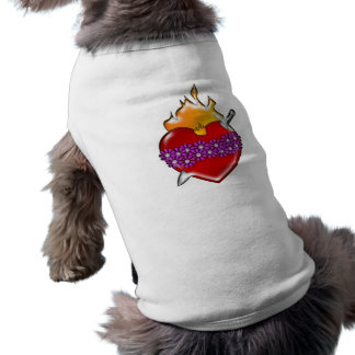 Immaculate Heart of Mary Sleeveless Dog Shirt