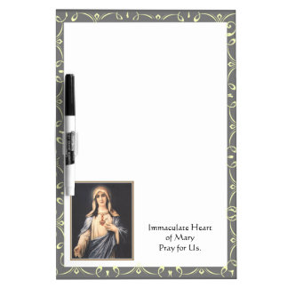 Immaculate Heart of Mary Dry-Erase Board