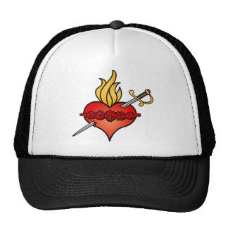 Immaculate Heart of Mary Icon Trucker Hats