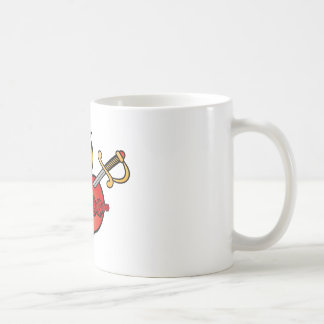 Immaculate Heart of Mary Icon Coffee Mugs