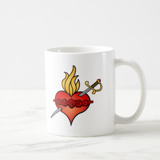Immaculate Heart of Mary Icon Mugs