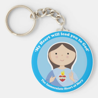 Immaculate Heart of Mary Key Chain