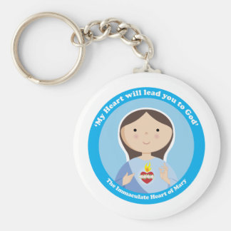 Immaculate Heart of Mary Keychain