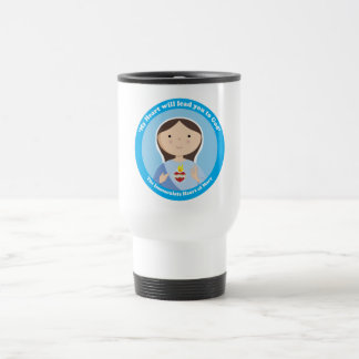 Immaculate Heart of Mary 15 Oz Stainless Steel Travel Mug