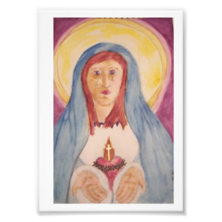 Immaculate Heart Of Mary Photograph