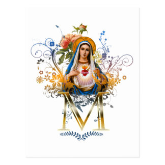 Immaculate Heart of Mary Postcard