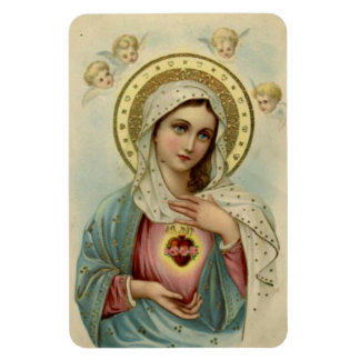 Immaculate Heart of Mary Refrigerator/CAR Rectangular Photo Magnet