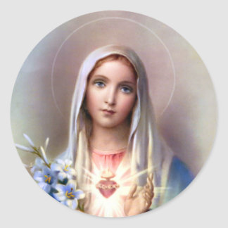 Immaculate Heart of Mary Stickers
