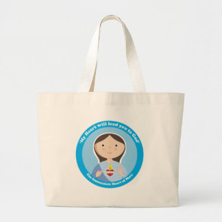 Immaculate Heart of Mary Jumbo Tote Bag