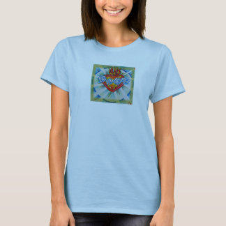 Immaculate Heart of Mary Womens and Mens T-Shirt