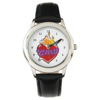 Immaculate Heart of Mary Wristwatch