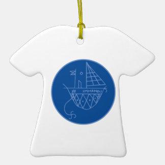 Immamou Veve Ceramic T-Shirt Ornament