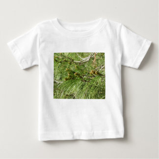 Immature male or pollen cones of pine tree baby T-Shirt