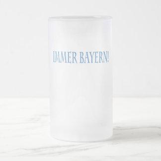 IMMER BAYERN! FROSTED GLASS MUG