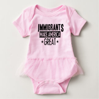 Immigrants Make America Great Baby Bodysuit