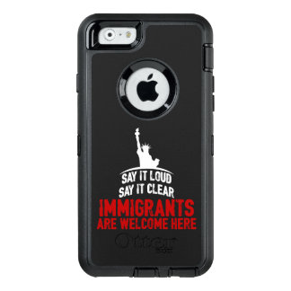 Immigrants Welcome iPhone & Samsung Otterbox Case