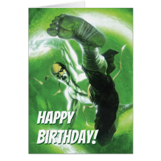 Immortal Iron Fist Kick Card