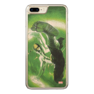 Immortal Iron Fist Kick Carved iPhone 8 Plus/7 Plus Case