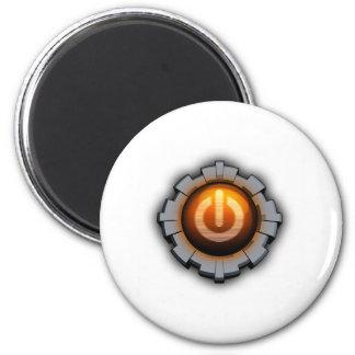 Immortal Machines Icon 6 Cm Round Magnet