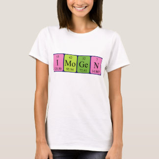 Imogen periodic table name shirt