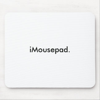 iMousepad. Mouse Mat