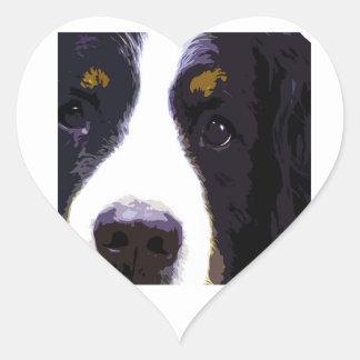 """IMPACT -color- Heart Sticker"