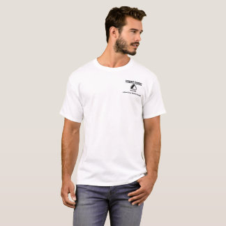 Impact - White Original Logo design T-Shirt
