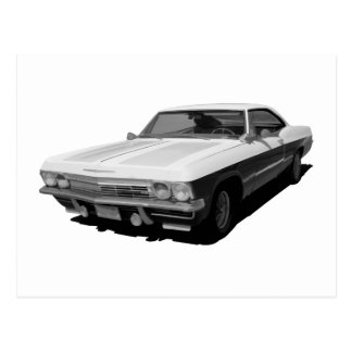Impala Madness Postcard