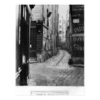 Impasse des Bourdonnais Postcard