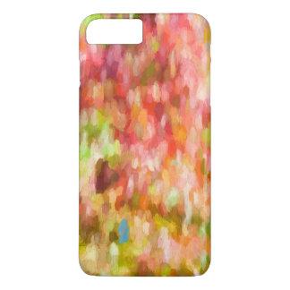 Impasto Brush Art Abstract in Pastel Pinks iPhone 8 Plus/7 Plus Case